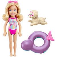 """Тoydico.  Набор """"Челси со щенком"""" из м/ф """"Barbie: Волшебство дельфинов"""" (FCJ28)"""