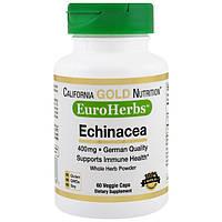 Эхинацея 400 мг 60 капс Germany для California Gold Nutrition (USA)