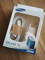 Зарядное устройство SAMSUNG 1 USB 2A + шнур MicroUSB