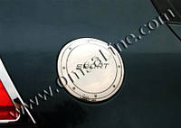 Хром накладка на люк бензобака Фольксваген Гольф 5