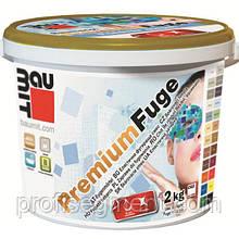 Baumit Premium Fuge затирка для швов - cement grey (цемент серый)
