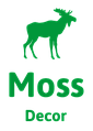 Moss Decor — решения из мха. Озеленение интерьеров, производство экосувениров