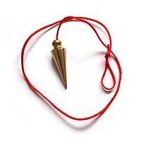 Металлический маятник Конус (бронза)