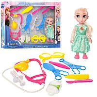 Доктор DN845-FZ FROZEN 10 предметов, кукла 15 см