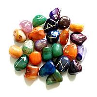 Руны из цветных камней, фото 1