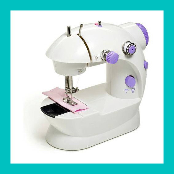 Мини швейная машинка 4 в 1 Mini Sewing Machine