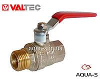 """Кран шаровой полнопроходной для воды ВН (ручка длинная стальная)  DN 1/2"""" Valtec"""