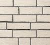 Клинкерная плитка Roben Oslo Жемчужно-белый рифленый