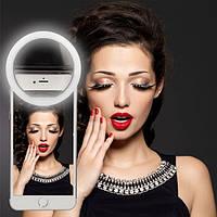 Кольцо для селфи Selfie Ring Light с USB