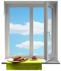 Окна на кухню