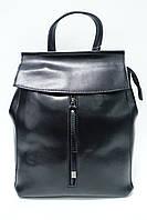 Женская кожаная сумка-рюкзак Galanty 10144 black
