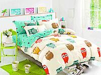 Полуторный комплект постельного белья сатин-фотопринт B-0099 Sn Bella Villa