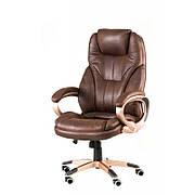 Кресло руководителя Special4You Bayron dark brown (E1540)