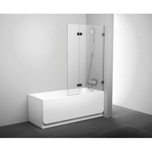Штора для ванны Ravak BVS2-100 L Transparent 7ULA0A00Z1