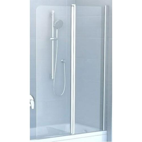 Штора для ванны RAVAK CVS2-100 R Transp 7QRA0100Z1 white
