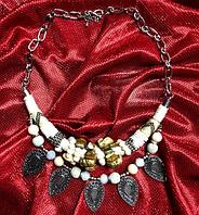Многослойные этнические бусы, ожерелье, колье в африканском стиле