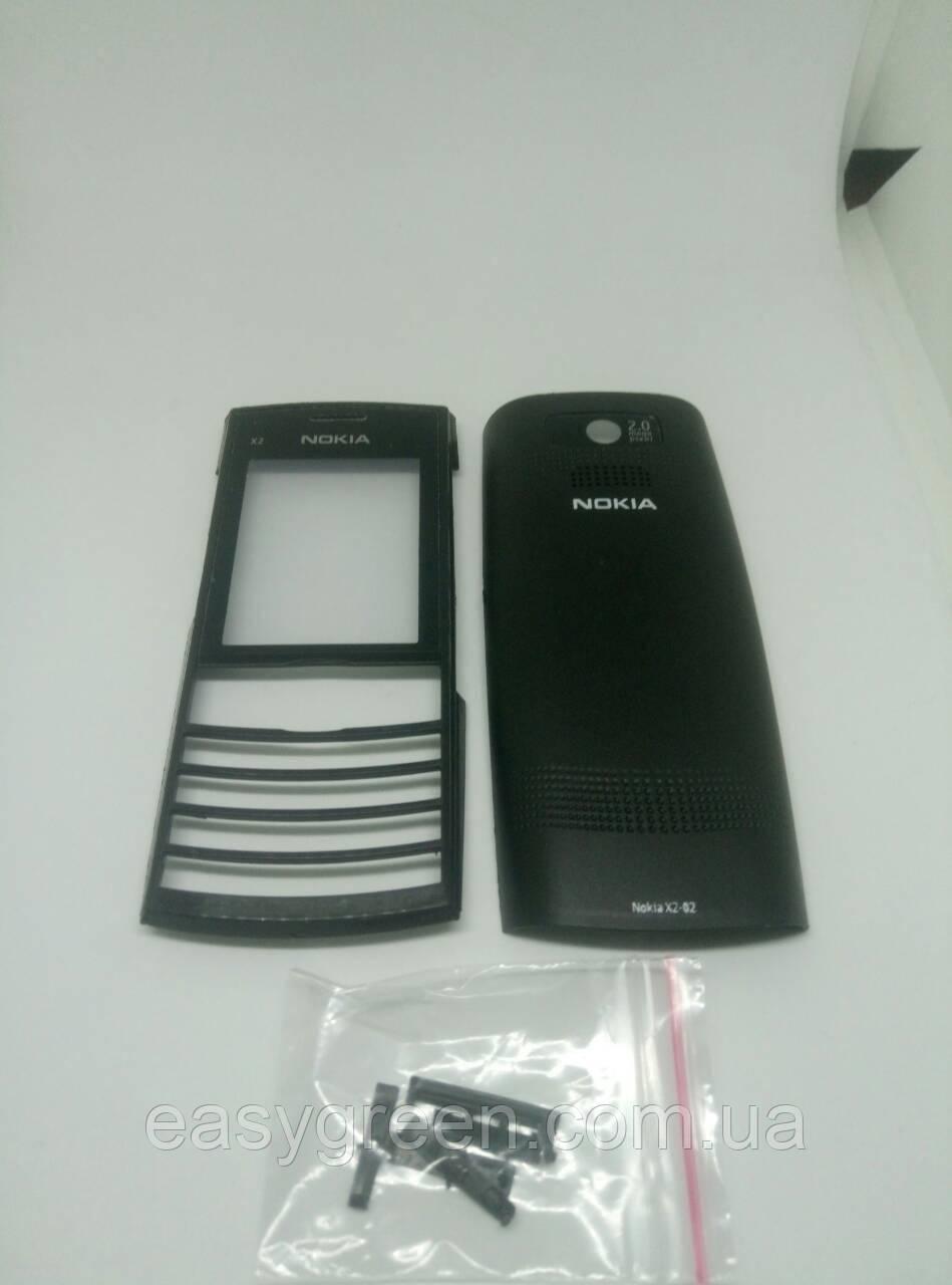 Nokia X2-02 Корпус передняя и задняя панель, фото 1