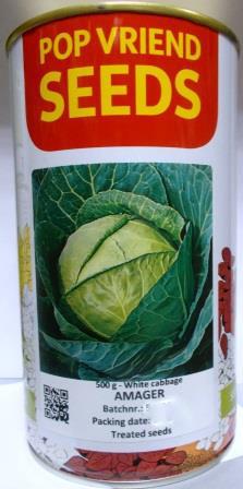 Капуста Амагер 500г (банка) Pop Vriend Seeds
