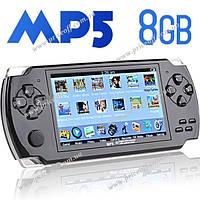 """Игровая консоль PSP 4.3"""" 8Гб/FM/AV-OUT/3000 игр (черная), фото 1"""