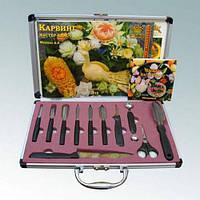 Набор для Карвинга №1 Börner 14 предметов (11ножей+сумка-пенал+ книга + DVD)