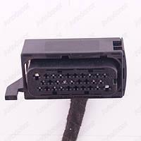 Разъем электрический 17-и контактный (50-19) б/у 1241592, 1241594