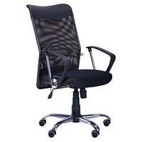 Кресло АЭРО HB Line сиденье Сетка черная,Неаполь N-20/спинка Сетка черная, вставка Неаполь N-20 TM AMF
