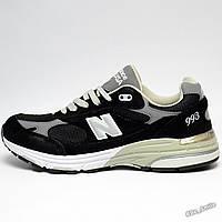 Кроссовки мужские New Balance M993 Running   Walking Shoes (черные-серые) 7e5e7a34dd8c1