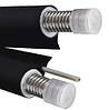 Двойной теплоизолированный трубопровод из нержавеющей стали с проводом под датчик температуры NanoFlex