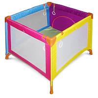 Манеж Wonderkids Rainbow (Разноцветный) для детей от 6 месяцев до 3 лет