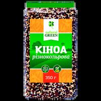 Киноа разноцветная NATURAL GREEN, 350 гр