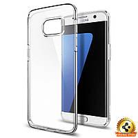 Чехол Spigen для Samsung S7 Edge Liquid Crystal, фото 1