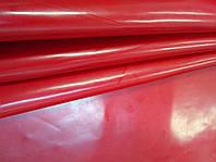 Кожа  ЛАК глянец, красный, 580, фото 1