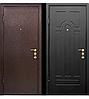 Дверь металлическая входная, тип Порошок/МДФ 16 Vinorit (уличная)