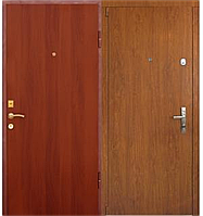 Дверь металлическая входная, тип Пленка/Пленка (уличная)