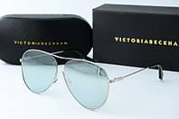Солнцезащитные очки Victoria Beckham зеркальные