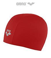 Тканевая шапочка для плавания Arena Training Polyester (Red)