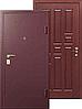 Дверь металлическая входная, тип Порошок/МДФ 16