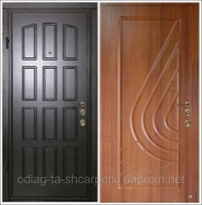 Дверь металлическая входная, тип ДМ-3 - MACROSTROY в Харькове