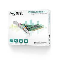 """Ewent EW3752 7.1 Звуковая карта с SPDIF PCI """"Over-Stock"""""""