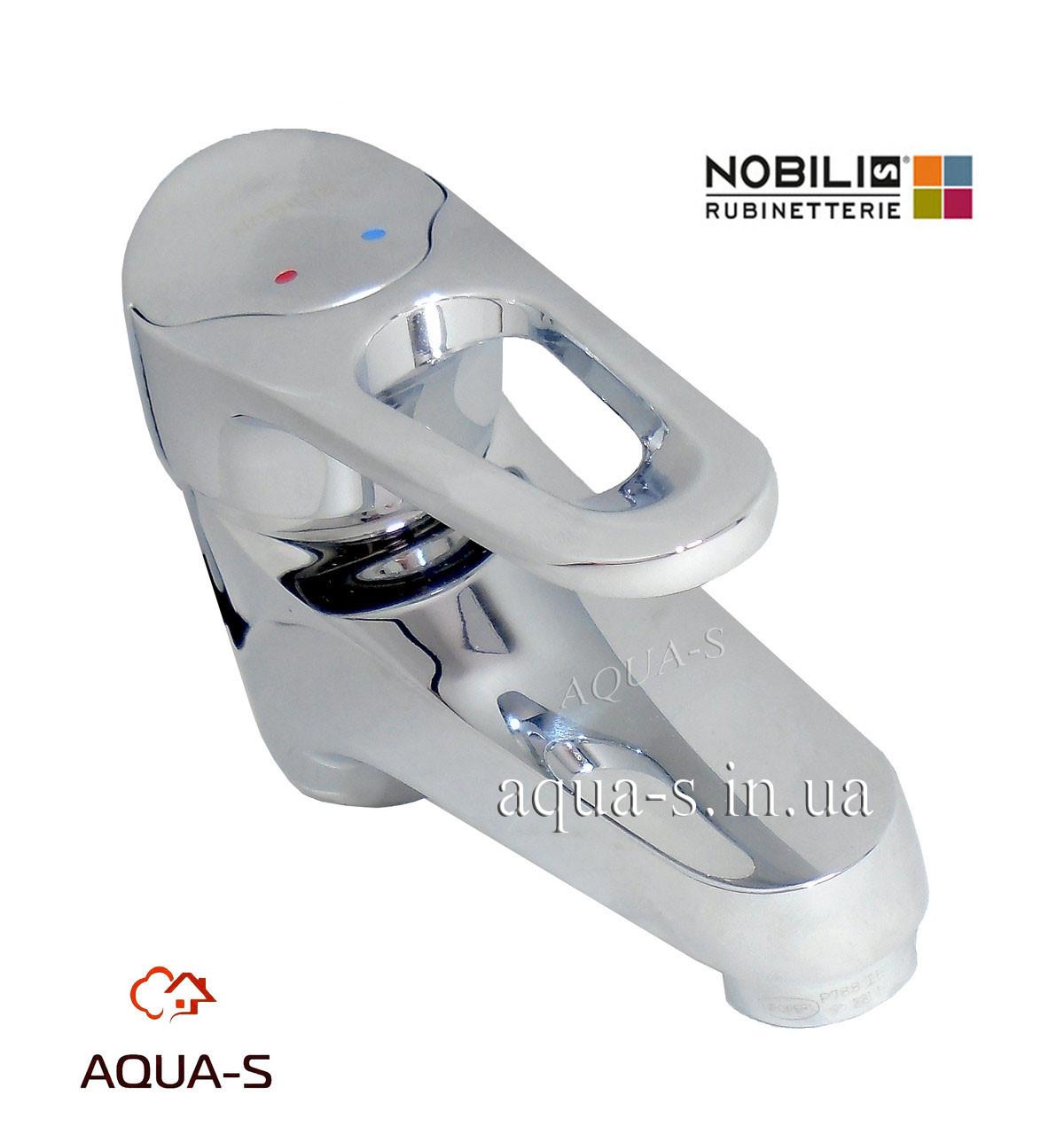 Смеситель для умывальника Nobili Timix TX27118 однорычажный с донным клапаном  (Италия)