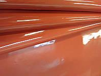 Кожа  ЛАК глянец, красный, 550, фото 1