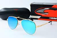 Солнцезащитные очки Carrera бирюзовые, фото 1