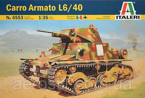 Carro Armato L6/40 1/35 ITALERI 6553