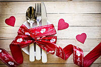 Романтический ужин за час на 14 февраля