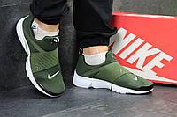Nike Air Presto темно зеленые