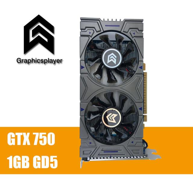 Видеокарта GeForce GTX750 1Gb