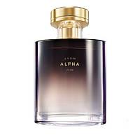 Avon Alpha for Him 75 ml мужская туалетная вода (Эйвон Альфа)