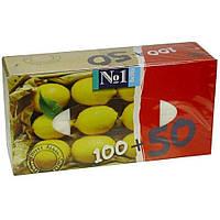 """Носовые платочки """"Bella"""" (лимон и мята)(100+50 шт.)"""