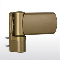 Дверная петля greenteQ TB 100.ZD.K перламутровое золото RAL1036