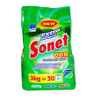 Стиральный порошок Sonet Extra Bio 3 кг (4823058714745)